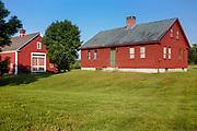 The Morrison House Museum, circa 1760 in Londonderry, New Hampshire  USA which is part of scenic New England
