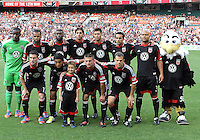 DC United starting eleven