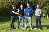 Team Smooth Radio - Pictured from left are Steffan Armstrong, Andy Dearden, Steve Dunbobbin and Leyton Howells