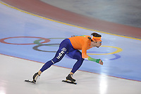 SCHAATSEN: SALT LAKE CITY: Utah Olympic Oval, 14-11-2013, Essent ISU World Cup, training, Mark Tuitert (NED), ©foto Martin de Jong