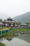 Carp Lake near Puli, Taiwan.