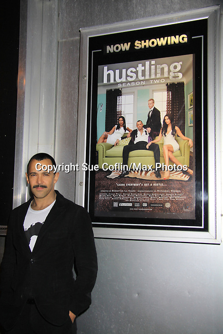 "A private screening of Sebastian La Cause's web series ""Hustling"" Season Two - 'cause everybody got a hustle -  was held on November 19, 2012 at TriBeca's Cinemas, New York City, New York. Days of our Lives ""Silvio"", One Live To Live and All My Children's Sebastian is the creator of Hustling along with being the writer, director and star (Photo by Sue Coflin/Max Photos)"