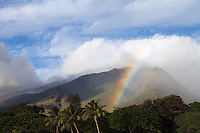 A rainbow at Olowalu, Maui.