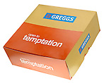 Greggs Box of Cakes - Oct 2011