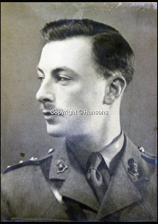 BNPS.co.uk (01202 558833)<br /> Pic: Hansons/BNPS<br /> <br /> Colonel Sir Peter Hilton.<br /> <br /> An impressive group of Second World War medals awarded to a remarkable husband and wife have emerged for auction and are tipped to sell for &pound;10,000.<br /> <br /> Courageous Colonel Sir Peter Hilton was one of only 25 men to be awarded the Military Cross three times, while his wife Lady Winifred was a member of the Women's Auxillary Air Force who worked in special operations on radar, decoding and cyphers in Liverpool and Belfast.<br /> <br /> The supercouple - who amassed a staggering 19 medals between them - met in 1940 when Sir Peter was billeted in Matlock, Derbyshire, after being evacuated from Dunkirk. They got married two years later.