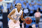 23 March 2014: North Carolina's Latifah Coleman. The University of North Carolina Tar Heels played the University of Tennessee Martin Skyhaws in an NCAA Division I Women's Basketball Tournament First Round game at Cameron Indoor Stadium in Durham, North Carolina. UNC won the game 60-58.