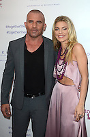 LOS ANGELES, CA - JUNE 25: Dominic Purcell and AnnaLynne McCord at the together1heart launch party hosted by AnnaLynne McCord at Sofitel Hotel on June 25, 2016 in Los Angeles, California. Credit: David Edwards/MediaPunch