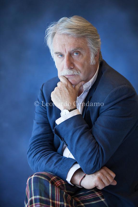 Paolo Crepet (Torino, 17 settembre 1951) è uno psichiatra, scrittore e sociologo italiano, ospite frequente di varie trasmissioni televisive. Torino, 14 maggio 2015. © Leonardo Cendamo