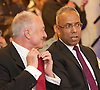 Lutfur Rahman <br /> Mayor of Tower Hamlets<br /> support rally in Mile End Road, east London, Great Britain <br /> 12th November 2014 <br /> <br /> Mayor Lutfur Rahman <br /> <br /> ex mayor of London <br /> Ken Livingstone<br /> <br /> <br /> <br /> Photograph by Elliott Franks <br /> Image licensed to Elliott Franks Photography Services