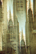 Abstract of Trinity Church on Wall Street.