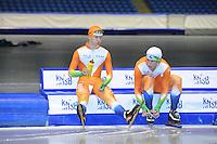 SCHAATSEN: HEERENVEEN: 25-06-2014, IJsstadion Thialf, Zomerijs training, Jong Oranje, ©foto Martin de Jong