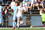 18 September 2015: Notre Dame's Connor Klekota. The University of North Carolina Tar Heels hosted the University of Notre Dame Fighting Irish at Fetzer Field in Chapel Hill, NC in a 2015 NCAA Division I Men's Soccer match. North Carolina won the game 4-2