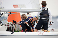 Medemblik - the Netherlands, July 13th 2010. Delta Lloyd IFDS Worlds 2010 (9/14 July 2010). Day five, race 6 and 7.