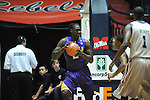 "LSU's Johnny O'Bryant III (2) at the C.M. ""Tad"" Smith Coliseum in Oxford, Miss. on Saturday, February 25, 2012."