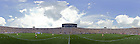 Panoramic Image of Notre Dame Stadium at the Kickoff of the Notre Dame-Nevada game, Sept. 5, 2009...Photo by Matt Cashore/University of Notre Dame