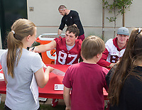 Stanford, CA - April15, 2017:  Ben Snyder at Cagan Stadium.