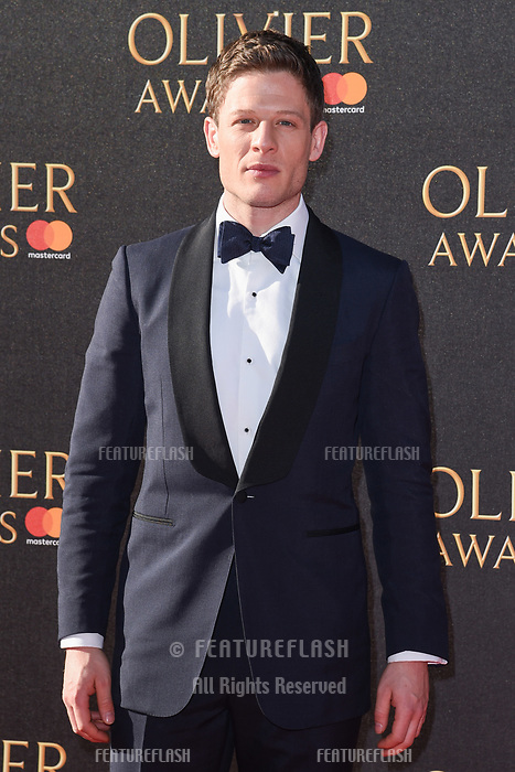 James Norton at The Olivier Awards 2017 at the Royal Albert Hall, London, UK. <br /> 09 April  2017<br /> Picture: Steve Vas/Featureflash/SilverHub 0208 004 5359 sales@silverhubmedia.com