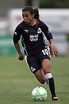 30 August 2009: Marta (10)(LA) of the WPS All-Stars.  The WPS All-Star team defeated the visiting Umea IK 4-2 in the first annual post season All-Star game of the Women's Professional  Soccer league at Anheuser-Busch Soccer Park, in Fenton, MO.