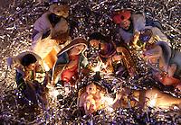 BOGOTA -COLOMBIA , 24- Diciembre-2016. Más de 1.229 millones de católicos en el mundo celebran a media noche el nacimiento de Jesús ,  salvador de los hombres. / More than 1.229 million Catholics in the world celebrate at midnight the birth of Jesus, savior of men.Photo: VizzorImage / Felipe Caicedo / Staff