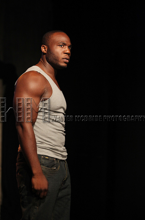 Patrick Byas.starring in Dan Heching Presents 'Sammy Gets Mugged'.at the Living Theatre in New York City.