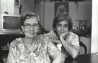 Astrid and her Mother Ruth Sansoni.<br />