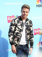 UNIVERSAL CITY, CA - NOVEMBER 16: Derek Hough attends the press junket for NBC's 'Hairspray Live!' at the NBC Universal Lot on November 16, 2016 in Universal City, California (Credit: Parisa Afsahi/MediaPunch).