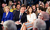 Conservative Party Spring Forum <br /> at The Old Granada Studios, Manchester, Great Britain <br /> 28th March 2015 <br /> <br /> <br /> <br /> <br /> David Cameron <br /> Prime Minister and Leader of the Conservatives <br /> speech <br /> <br /> Samantha Cameron <br /> <br /> George Osborne <br /> Chancellor the Exchequer <br /> speech <br /> <br /> Photograph by Elliott Franks