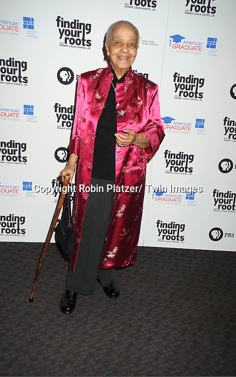 "Margaret Cooper attends the PBS""s Finding Your Roots with Henry Louis Gates, Jr  Premiere screening   at The Allen Room at Frederick P Rose Hall in New York City on March 19, 2012."