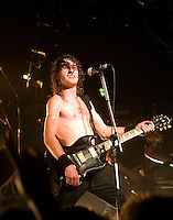 Airbourne performing at the Hifi Bar, Melbourne, 25 January 2008