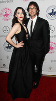 BEVERLY HILLS, CA, USA - OCTOBER 11: Kat Dennings, Josh Groban arrive at the 2014 Carousel Of Hope Ball held at the Beverly Hilton Hotel on October 11, 2014 in Beverly Hills, California, United States. (Photo by Celebrity Monitor)