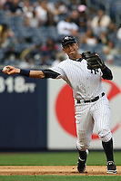 09/19/11 Bronx, NY: New York Yankees third baseman Alex Rodriguez #13 during an MLB game played at Yankee Stadium between the Minnesota Twins and the New York Yankees. The Yankees defeated the Twins 6-4.