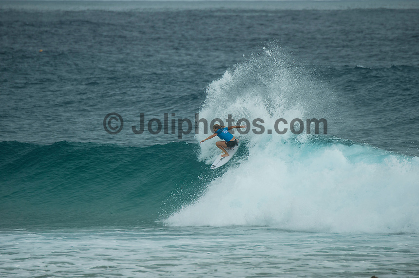 COOLANGATTA, Queensland/AUS (Sunday, March 19, 2017) Stephanie Gilmore (AUS) - The Quiksilver and Roxy Pro Gold Coast was called ON today in three - to - four foot (1 m) surf at Snapper Rocks. The event got underway at 7:05 a.m. with the Men's Quarterfinals followed by the Women's Quarterfinals and ran through to the finals with Owen Wright (AUS) posting a victory with his first event back from injury and Stephanie Gilmore (AUS) adding another Roxy Pro title to her name. Wright defeated defending event champion Matt Wilkinson(AUS) in an all goofy-foot final while Lakey Peterson (USA) was runner up to Gilmore.   Photo: joliphotos.com