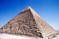 THE GREAT PYRAMID OF CHEOPS AT GIZA<br /> Built circa 2600 B.C.
