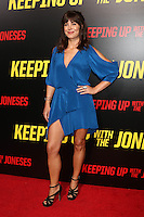"LOS ANGELES, CA - OCTOBER 8: Moniqua Plante at the ""Keeping Up with the Joneses"" Red Carpet Event at Twentieth Century Fox Studios in Los Angeles, California on October 8, 2016. Credit: David Edwards/MediaPunch"