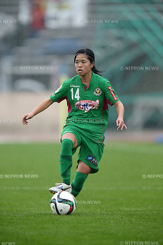 Yui Hasegawa (Beleza), NOVEMBER 8, 2015 - Football / Soccer : 2015 Plenus Nadeshiko League Division 1 between NTV Beleza 0-0 INAC KOBE LEONESSA at Shonan BMW Stadium Hiratsuka, Kanagawa, Japan. (Photo by Jun Tsukida/AFLO SPORT)