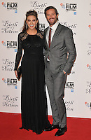 Elizabeth Chambers and Armie Hammer at the &quot;The Birth of a Nation&quot; 60th BFI London Film Festival Headline gala screening, Odeon Leicester Square cinema, Leicester Square, London, England, UK, on Tuesday 11 October 2016.<br /> CAP/CAN<br /> &copy;CAN/Capital Pictures /MediaPunch ***NORTH AND SOUTH AMERICAS ONLY***