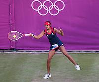 Anne Keothavong..Tennis - OLympic Games -Olympic Tennis -  London 2012 -  Wimbledon - AELTC - The All England Club - London - Monday July 30th  2012. .© AMN Images, 30, Cleveland Street, London, W1T 4JD.Tel - +44 20 7907 6387.mfrey@advantagemedianet.com.www.amnimages.photoshelter.com.www.advantagemedianet.com.www.tennishead.net