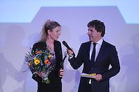 SPORT ALGEMEEN: HEERENVEEN: 17-02-2016, Sportgala Fryslân, Maria Sterk won de Oevreprijs,©foto Martin de Jong