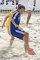 Shusei Yamauchi (JPN), SEPTEMBER 4, 2011 - Beach Soccer : FIFA Beach Soccer World Cup Ravenna-Italy 2011 Group D match between Ukraine 4-2 Japan at Stadio del Mare, Marina di Ravenna, Italy, (Photo by Enrico Calderoni/AFLO SPORT) [0391]