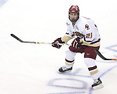 Benn Ferriero (Boston College - Essex, MA) - The Michigan State Spartans defeated the Boston College Eagles 3-1 (EN) to win the national championship in the final game of the 2007 Frozen Four at the Scottrade Center in St. Louis, Missouri on Saturday, April 7, 2007.