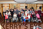Santa arrived in the Meadowlands hotel, Tralee last Sunday evening to surprise the residents and staff of Mount Eagle Lodge, Tralee and gave away loads of gifts to make a great Christmas party for all involved.