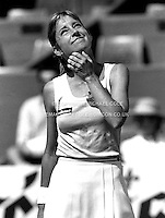 CHRIS EVERT (USA)<br /> French Open Paris 1982Chris Evert (USA)<br /> Copyright Michael Cole
