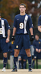 02 December 2007: West Virginia's Paul Paradise. The Wake Forest University Demon Deacons defeated the West Virginia University Mountaineers 3-1 at W. Dennie Spry Soccer Stadium in Winston-Salem, North Carolina in a Third Round NCAA Division I Mens Soccer Tournament game.