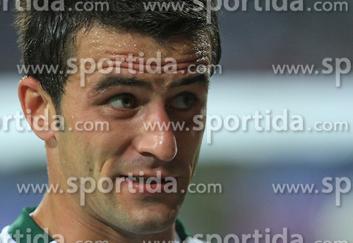 Mirnes Sisic (7) after the fourth round qualification game of 2010 FIFA WORLD CUP SOUTH AFRICA in Group 3 between Slovenia and Northern Ireland at Stadion Ljudski vrt, on October 11, 2008, in Maribor, Slovenia.  (Photo by Vid Ponikvar / Sportal Images)