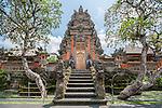 Ubud, Bali, Indonesia; the Balinese Hindu temple, Pura Taman Saraswati