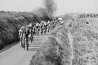 chase group led by Ian Stannard (GBR/SKY)<br /> <br /> 60th E3 Harelbeke (1.UWT)<br /> 1day race: Harelbeke &rsaquo; Harelbeke - BEL (206km)