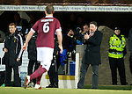 Hearts v St Johnstone...14.02.12.. Scottish Cup 5th Round Replay.Paulo Sergio encourages his players.Picture by Graeme Hart..Copyright Perthshire Picture Agency.Tel: 01738 623350  Mobile: 07990 594431
