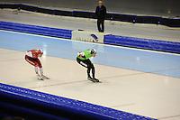 SCHAATSEN: HEERENVEEN: 26-12-2013, IJsstadion Thialf, KNSB Kwalificatie Toernooi (KKT), 5000m, Jan Blokhuijsen, Sven Kramer, ©foto Martin de Jong