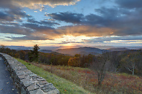 Scenic view from the Shenandoah National Park in Virginia. Photo/Andrew Shurtleff