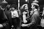 Blitz Club Covent Garden London 1980. <br /> <br /> Stephen Jones the milliner in beret dancing with Jayne Chilkes.<br /> <br /> If you know the names of any of the people in these pictures, please let me know. many thanks.<br /> My ref 9a/3995/1980